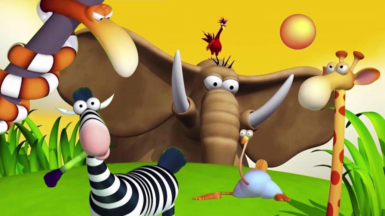 Hilarious Animal Cartoon Compilation For Kids on Net