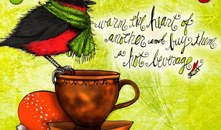 16 Philosophicaly Correct Sayings This Artist Believes Her Coffee Said to Her For Christmas And Gratitude – Unbelievably True