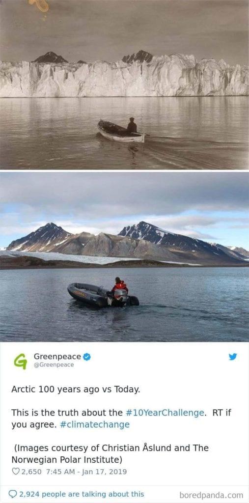 10 year challenge best photos