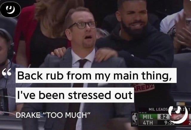 drake basketball meme