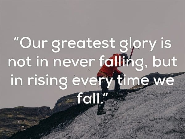 inspirational quote about glory