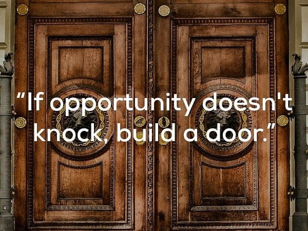 quote about opportunity