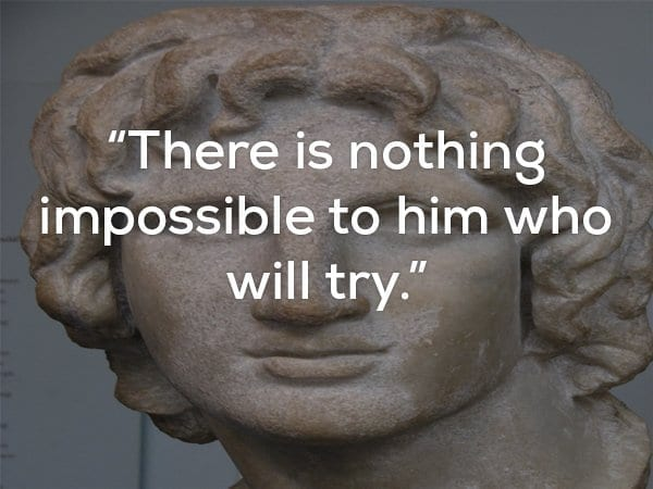 quote about impossible