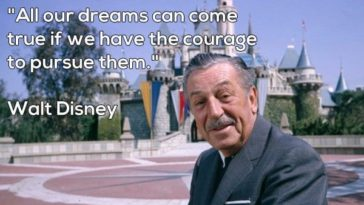 walt disney motivational quote 2020