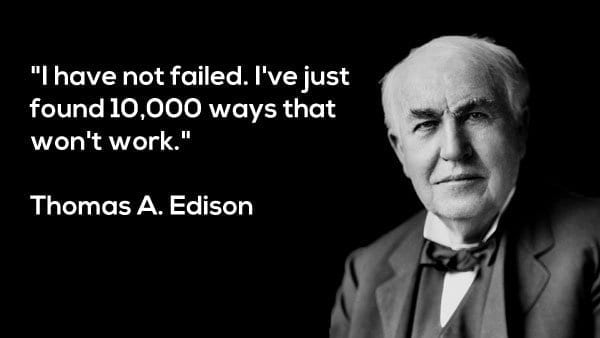 thomas edison best quote