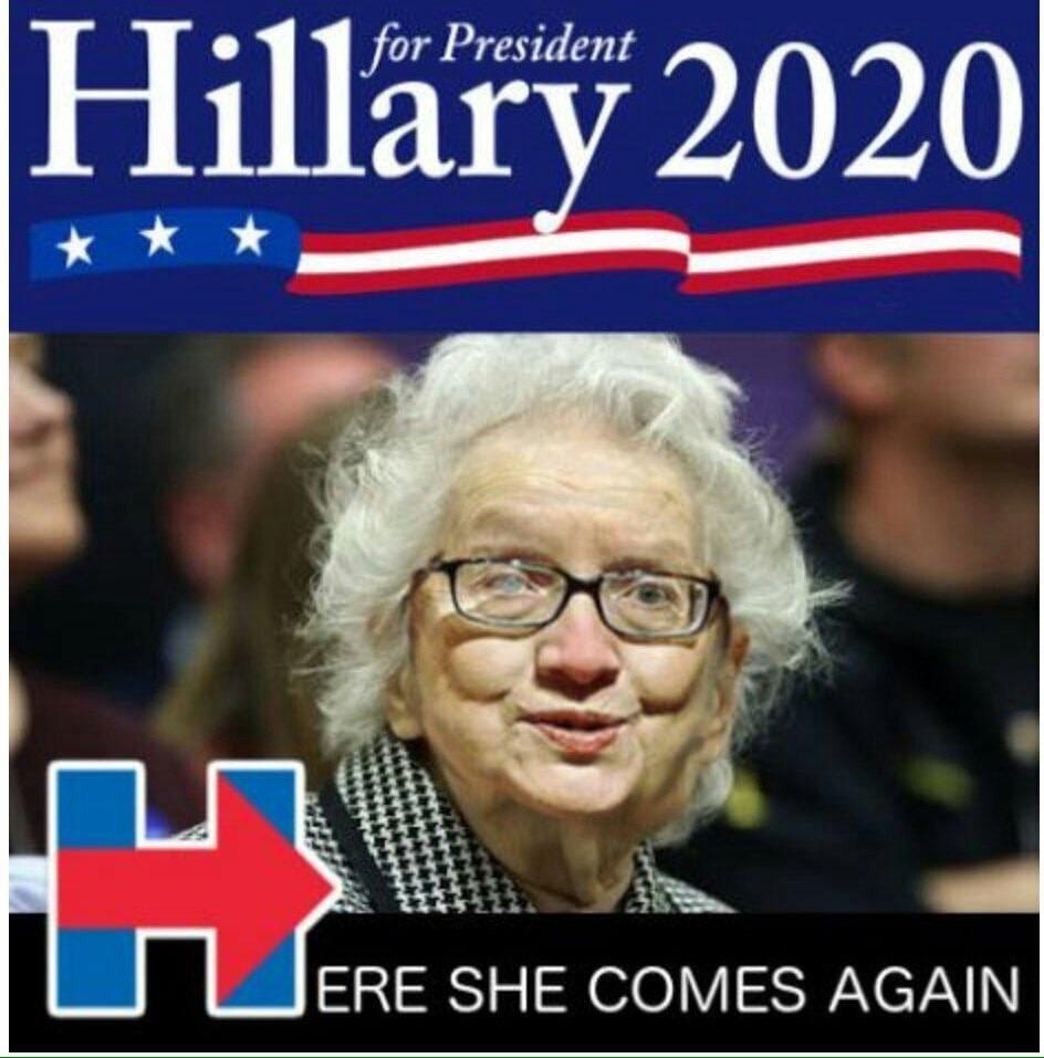 hillary 2020 meme