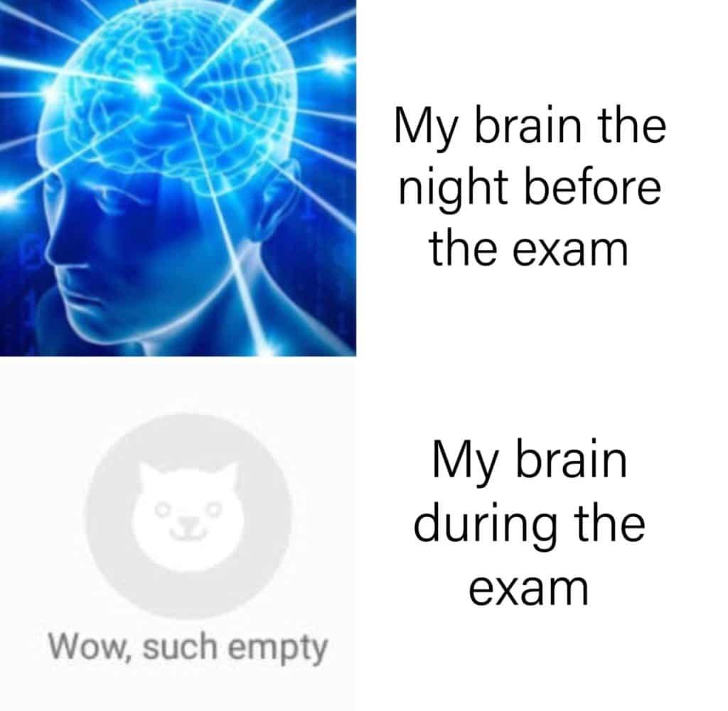 exam memes 2020