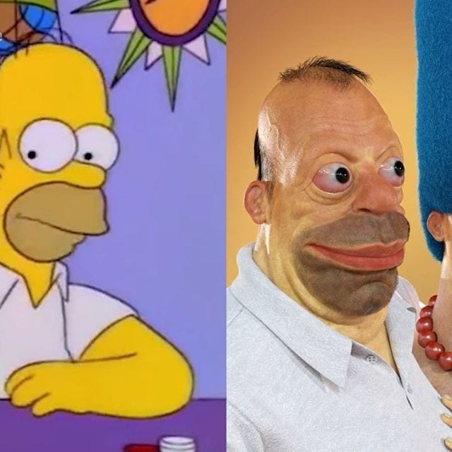 realistic homer