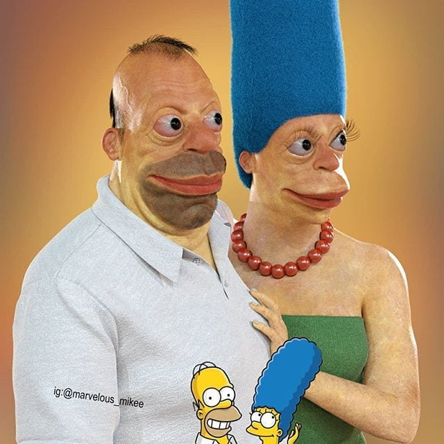 homer in real life